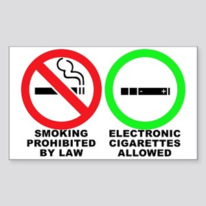 Vaping sticker Sticker (Rectangle)