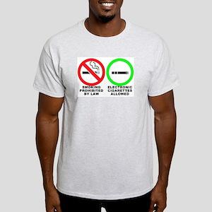 Vaping sticker Light T-Shirt