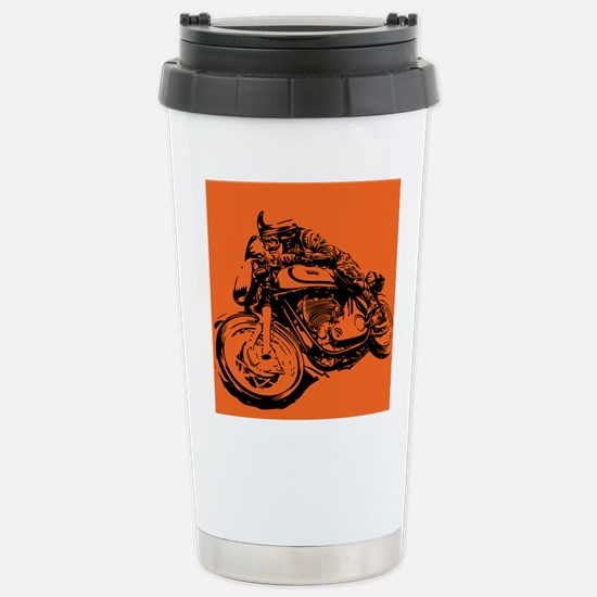 CAFE RACER NORTON Stainless Steel Travel Mug