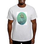Ash Grey T-Shirt Ganga Large