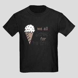 We All Scream Kids Dark T-Shirt