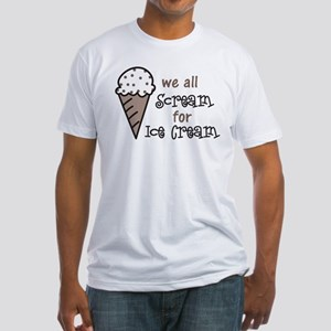 We All Scream Fitted T-Shirt