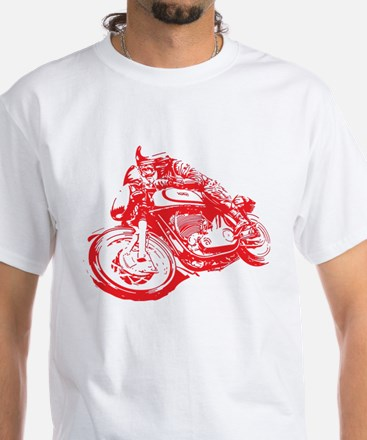 Norton Cafe Racer White T-Shirt