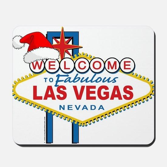Welcome to Las Vegas Christmas Mousepad