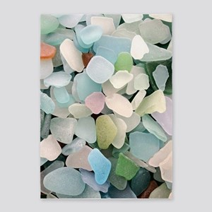 Sea glass 5'x7'Area Rug
