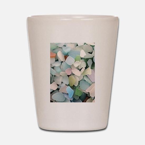 Sea glass Shot Glass