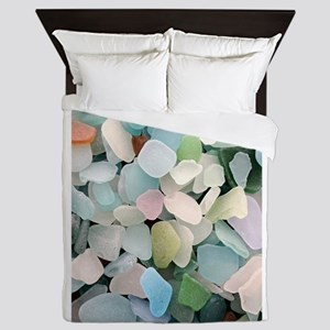 Sea Glass Queen Duvet
