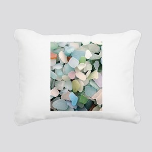 Sea glass Rectangular Canvas Pillow