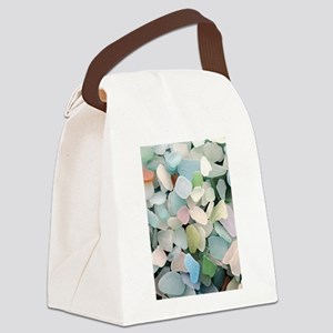 Sea glass Canvas Lunch Bag
