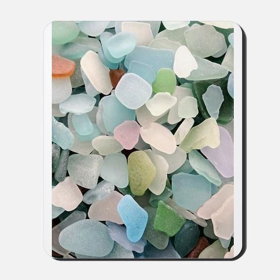 Sea glass Mousepad