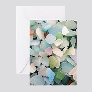 Sea glass Greeting Cards (Pk of 20)