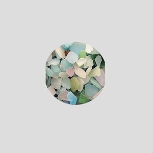 Sea glass Mini Button