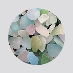 Sea glass Ornament (Round)
