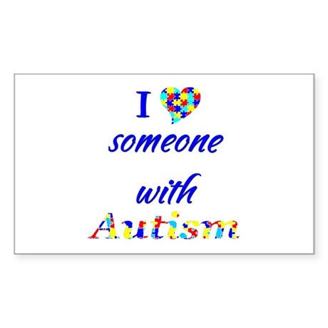 Autism Sticker (Rectangle)