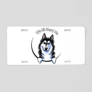 Siberian Husky IAAM Aluminum License Plate