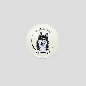 Siberian Husky IAAM Mini Button