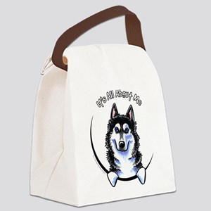 Siberian Husky IAAM Canvas Lunch Bag
