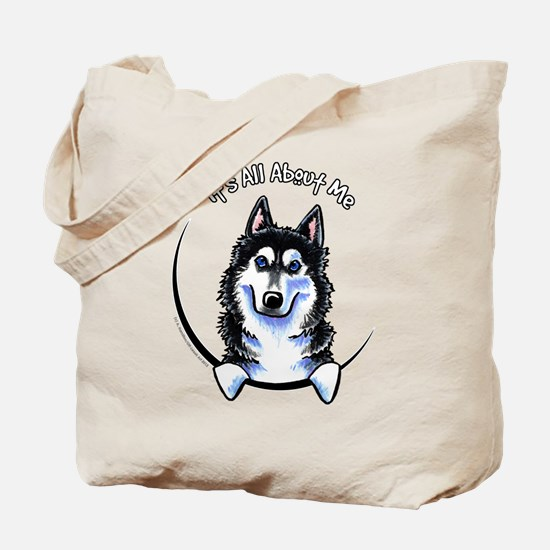 Siberian Husky IAAM Tote Bag