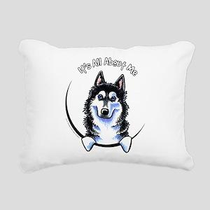 Siberian Husky IAAM Rectangular Canvas Pillow