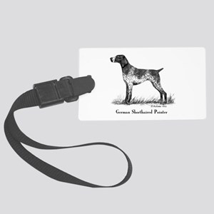 German Shorthaired Pointer Large Luggage Tag
