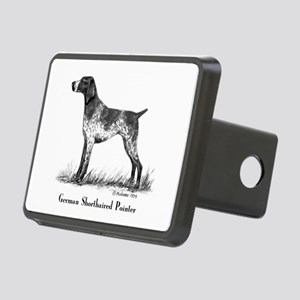 German Shorthaired Pointer Rectangular Hitch Cover