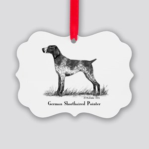 German Shorthaired Pointer Picture Ornament