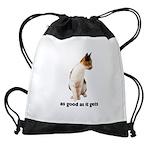 FIN-calico-cat-good Drawstring Bag