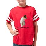 FIN-calico-cat-good Youth Football Shirt