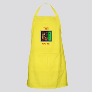 Too Little Time Yellow Kitchen Apron