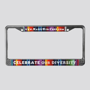 SALE!! License Plate Frame - Celebrate