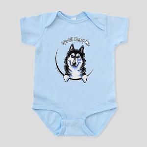 Siberian Husky IAAM Infant Bodysuit