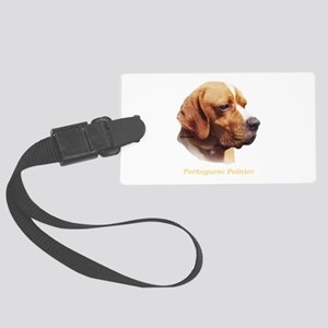 Portuguese Pointer Large Luggage Tag