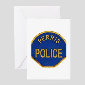 Perris Police Greeting Card