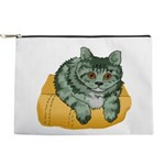 tabby-cat-1-FIN Makeup Pouch