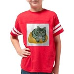 tabby-cat-1-FIN Youth Football Shirt