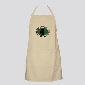 Squatch in these Woods Apron