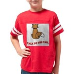 cat-talk-to-the-tail Youth Football Shirt