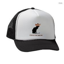 FIN-cinco-de-meow Kids Trucker hat