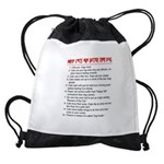 Cats Are Better Than Dogs Drawstring Bag