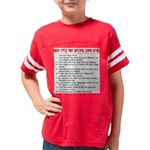 Cats Are Better Than Dogs Youth Football Shirt