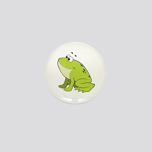 cartoon frog.png Mini Button