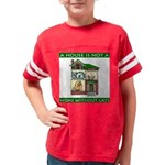 FIN-cats-house-home Youth Football Shirt
