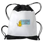 FIN-cat-spoken-here Drawstring Bag