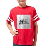 FIN-cats-playing-poker Youth Football Shirt
