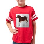 Horse Cave Painting Youth Football Shirt