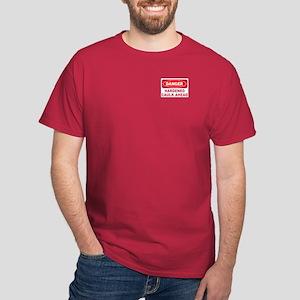 DANGER HARDENED CAULK -  DARK T-Shirt