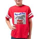Paint Horse Pride Youth Football Shirt