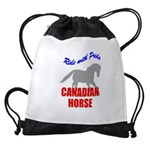 rwp-canadian-horse.tif Drawstring Bag