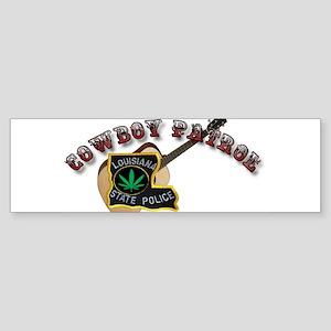 Cowboy Patrol Bumper Sticker