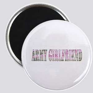 Army Girlfriend (Pink Camo) Magnet